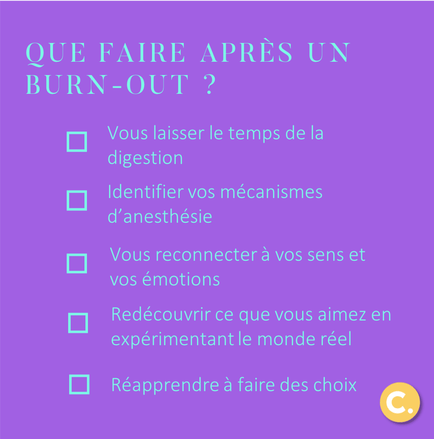 Que faire après un burn-out ? - Carbone Theory, blog de développement personnel